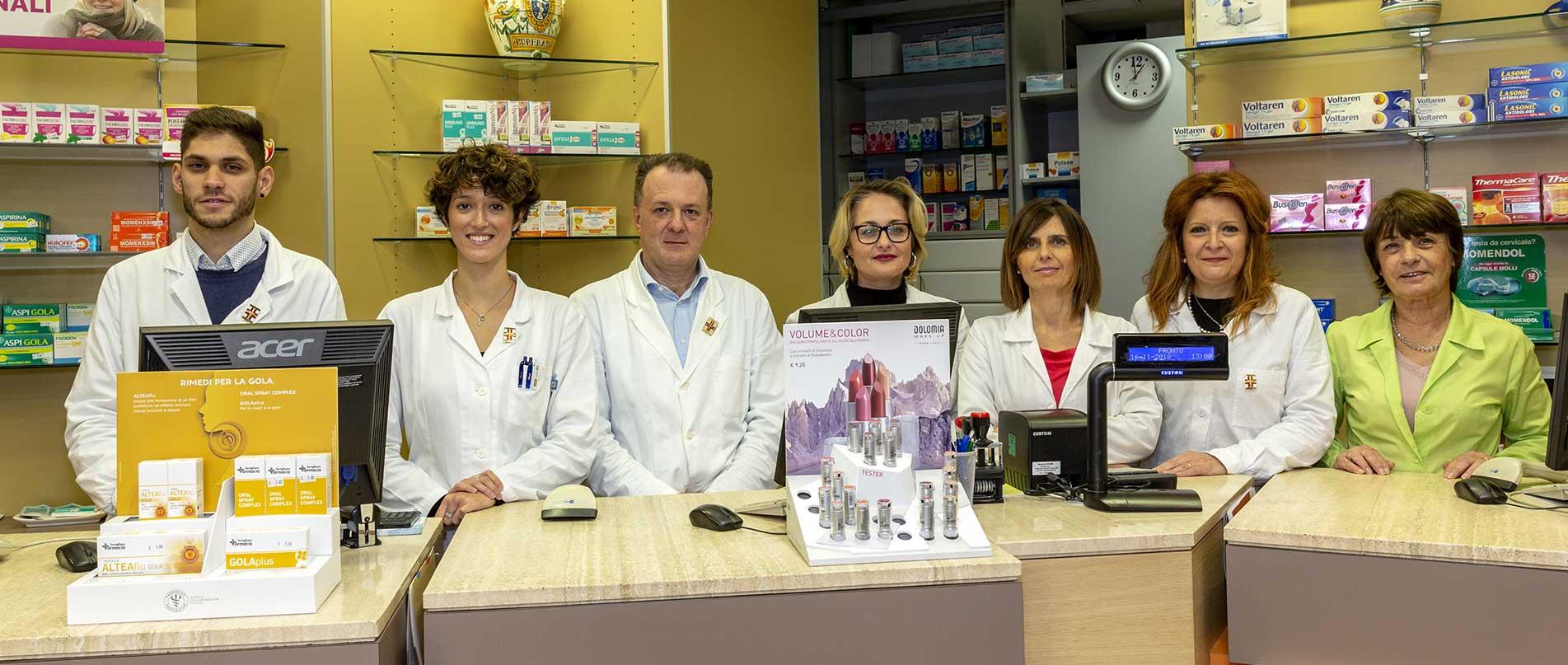Staff Farmacia Savigliano Avigliana