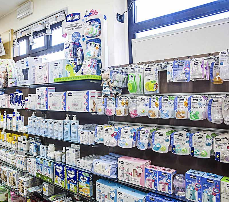 reparto infanzia farmacia Savigliano Avigliana